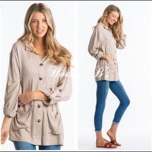 Jackets & Blazers - Darling khaki utility jackets